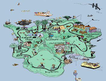 Angel Island Campground Map