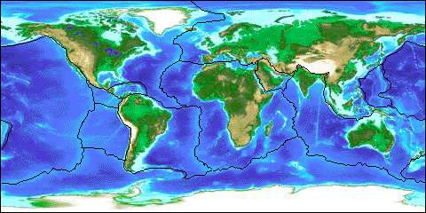 Plotting earthquakes and volcanoes volcanoes and earthquakes provide the evidence for plate tectonics volcanoes provide a location type of eruption and type of rocks produced gumiabroncs Choice Image