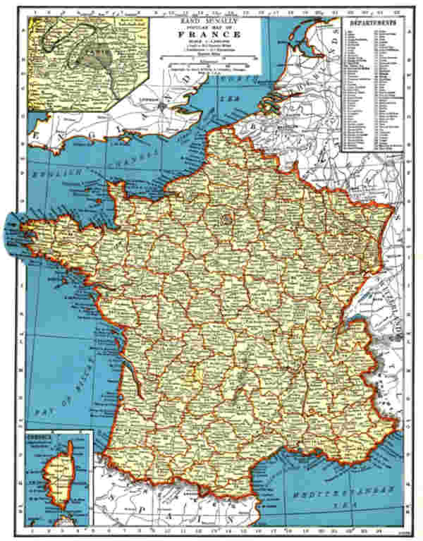 Contrasting Different Types of Maps on